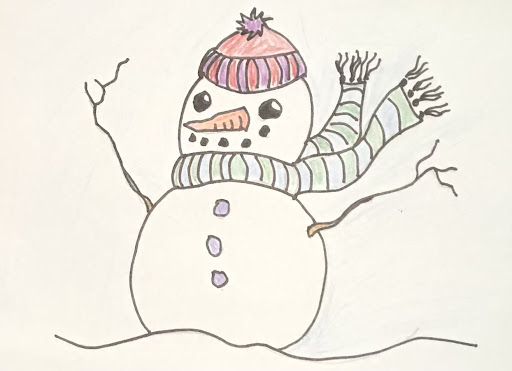 ar_snowman video